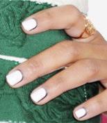 White Nails Framed