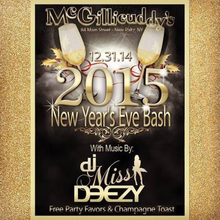 NYE at McGillicuddy's New Paltz